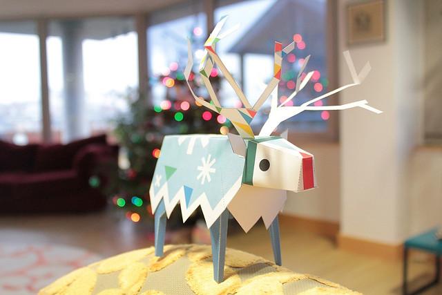 Tearaway: Papercraft Reindeer