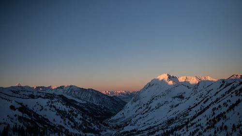 The Wasatch at sunrise