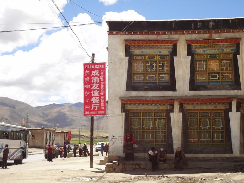 Vila de Tingri no Tibete