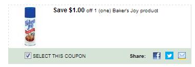 $1.00/1 Baker