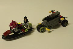 LEGO Teenage Mutnt Ninja Turtles Stealth Shell in Pursuit (79102)
