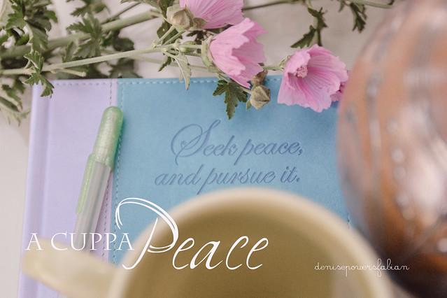 A Cuppa Peace