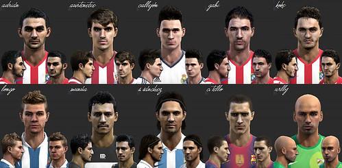 Download La Liga Facepack by el yorugua PES 2013