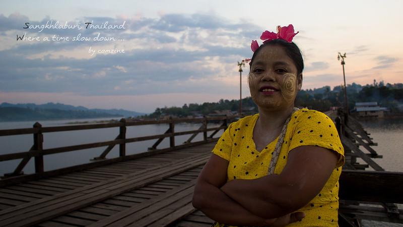 สะพานมอญ พี่เย็น - สังขละบุรี