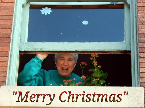 Receiving Christmas Greetings