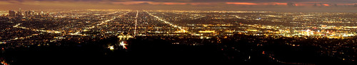 View of Hollywood and Los Angeles from Griffith Park