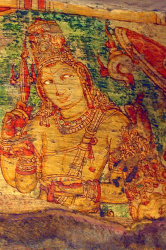 Sri Vishnu - Kanchi Kailasanatha Temple by Swaminathan Natarajan