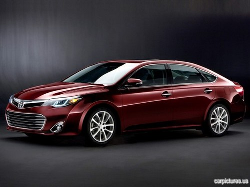 TOYOTA AVALON PICTURES
