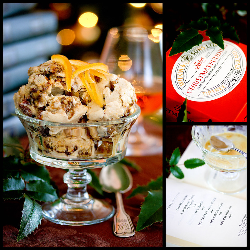 Christmas Plumpudding Ice Cream