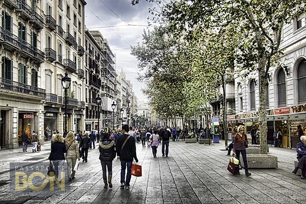compras em barcelona, Portal del Ángel, Barcelona