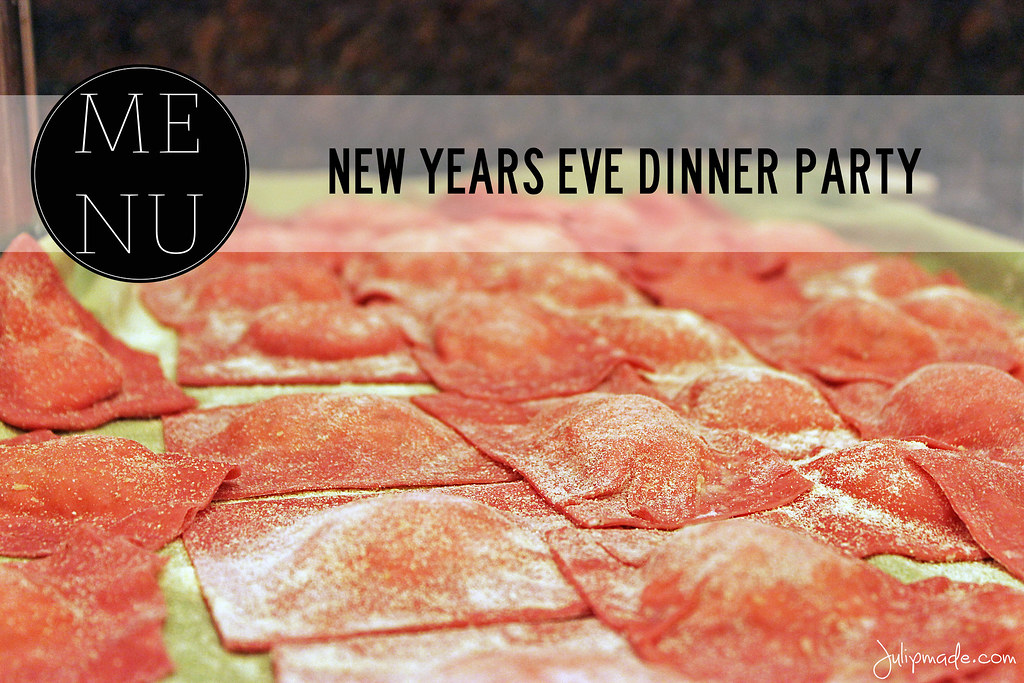Julip made new year 39 s eve dinner party menu for Dinner party recipes for 12