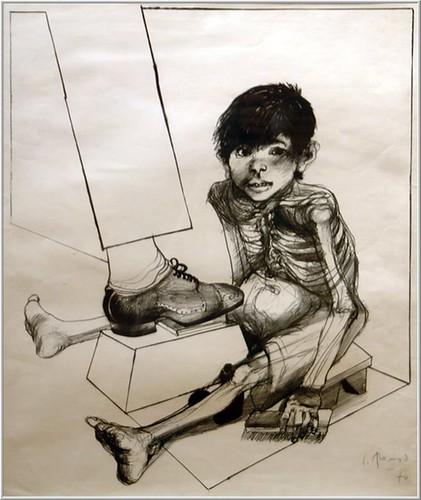 Alonso, Carlos (1929- ) - 1970 Bootblack