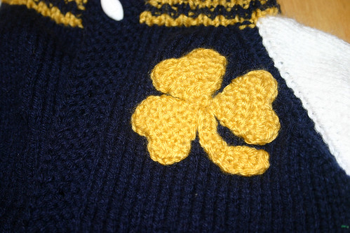 Notre Dame Baby Jacket
