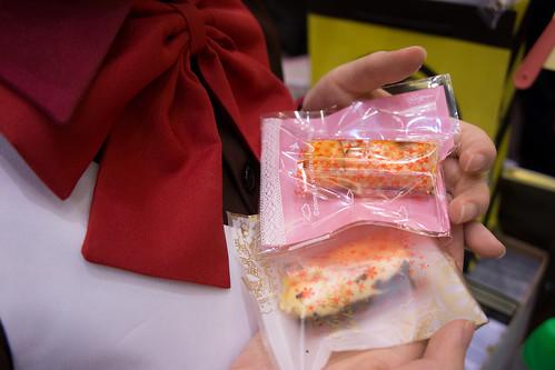 首先是lilicon 小遙的 cake~ 冷冷的超適合在這個焗爐場中食用