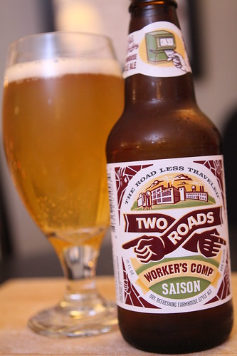 Two Roads Brewing Co. Worker's Comp Saison
