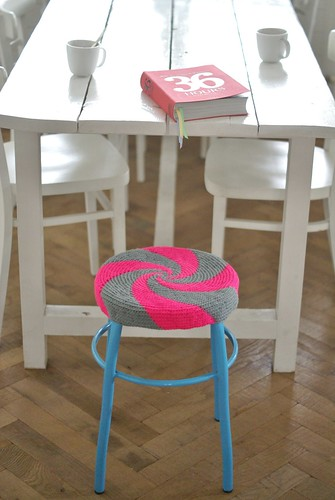 36 hours & twirl by wood & wool stool