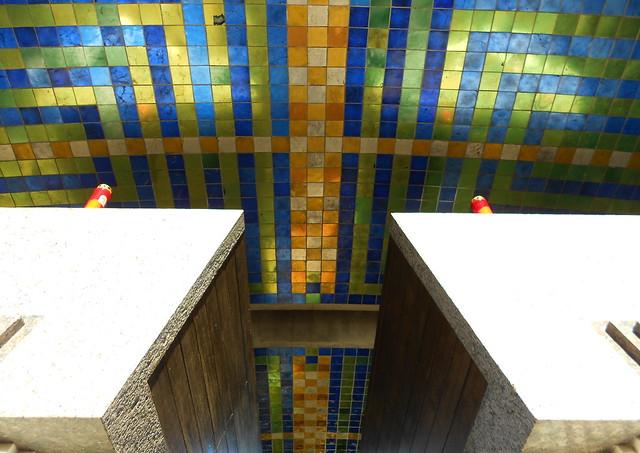 arche sotto Arcosolio - Tomba Brion - Carlo Scarpa