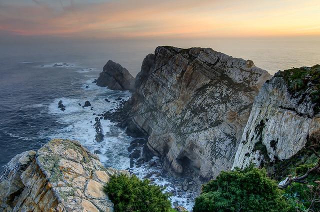 The cliffs of Cabo Peñas