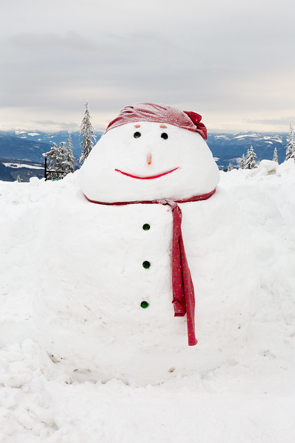 Giant Snowman | Flickr - Photo Sharing!