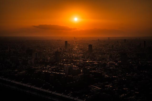 20121231_01_Tokyo Sunset