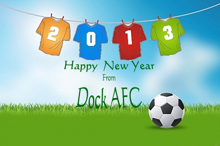 Happy New Year From Dock