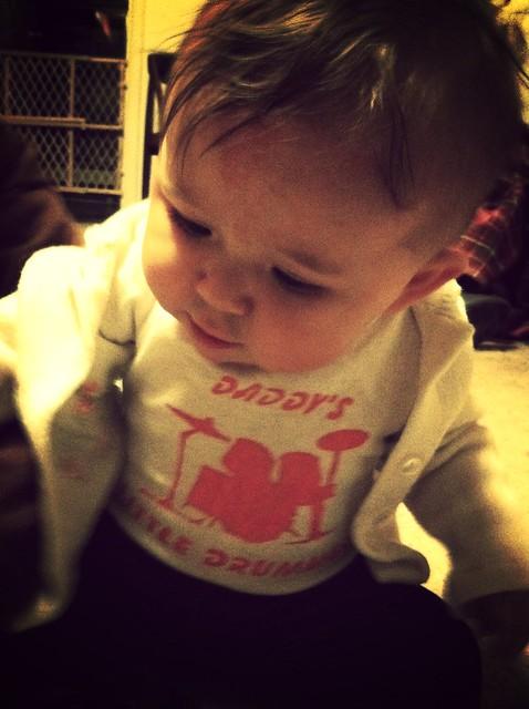 Daddy's little drummer