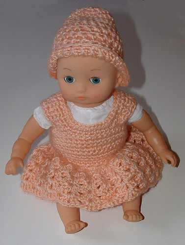 14 Inch Baby Doll Dress Hat Pattern Free Pattern Links