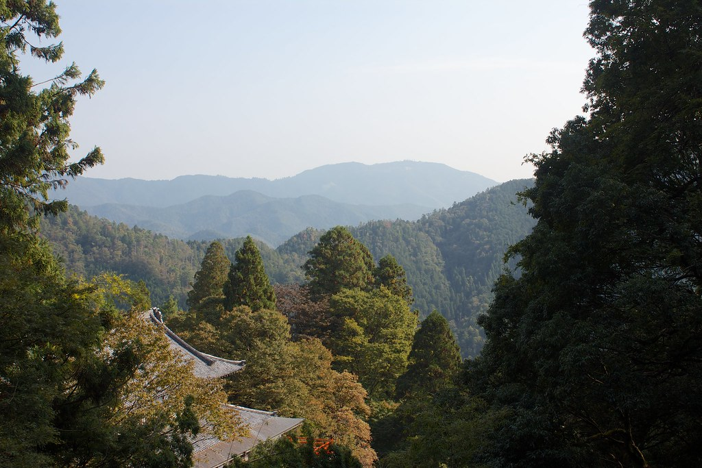 View from Kurama-dera