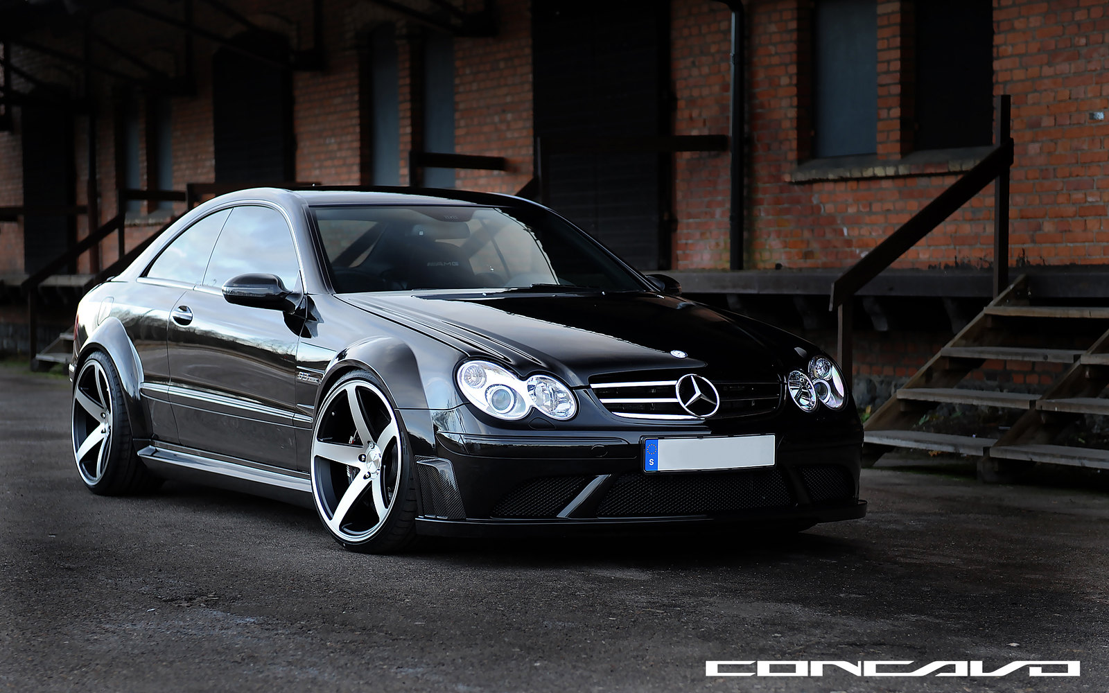 """2012 C63 Amg For Sale >> FIRST MERCEDES CLK63 AMG BLACK SERIES ON 20"""" CONCAVO CW-5 DEEP CONCAVE ALL AROUND MUST SEE ..."""