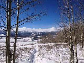 Colorado Trail Snow Hike