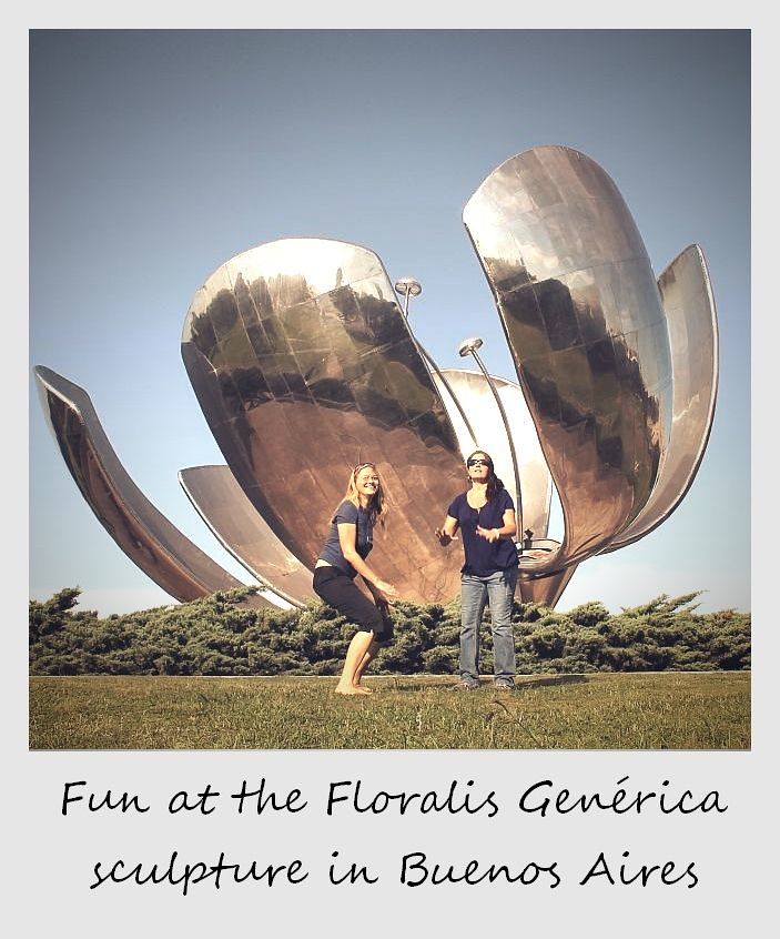 polaroid of the week argentina buenos aires floralis