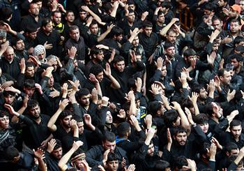 Shiite Muslims celebrate the festival of Arbaeen in Karbala, 50 miles south of Baghdad, Iraq. Seventeen people were reportedly killed in car bombings on January 3, 2013. by Pan-African News Wire File Photos