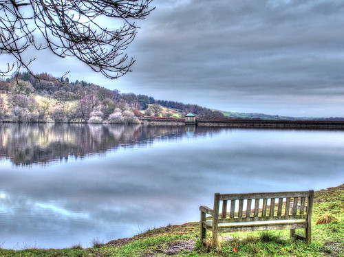 park uk water bench high peak reservoir national valley hdr goyt fernilee flickraward