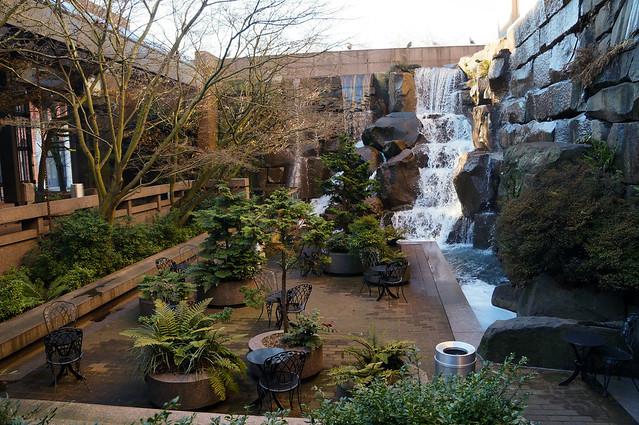 Foto Zu Waterfall Garden Seattle Wa Vereinigte Staaten