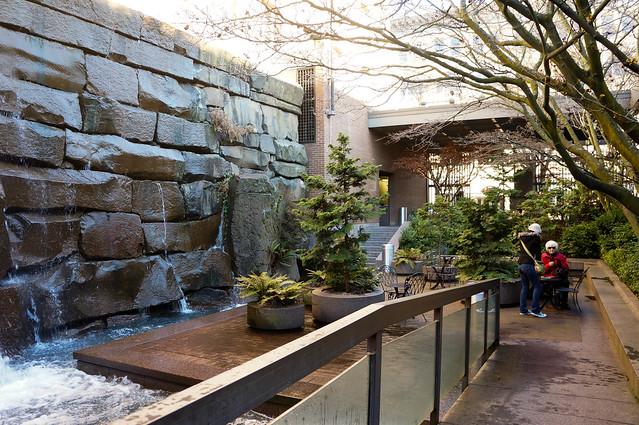 Waterfall Garden Park Seattle Wa Land8