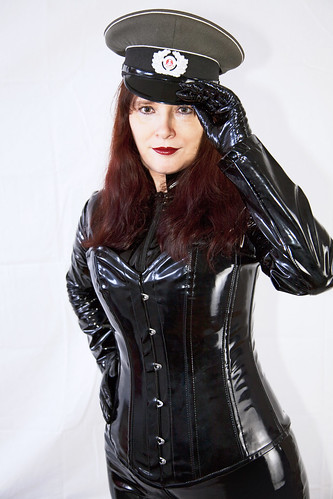 Russian Dominatrix catsuit set