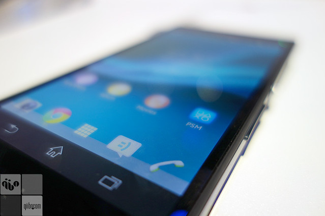 Hands on: Sony Xperia Z — CES 2013