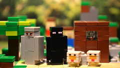 LEGO Minecraft Additional Micromobs