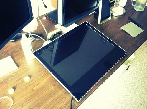 Desk setup Yiynova