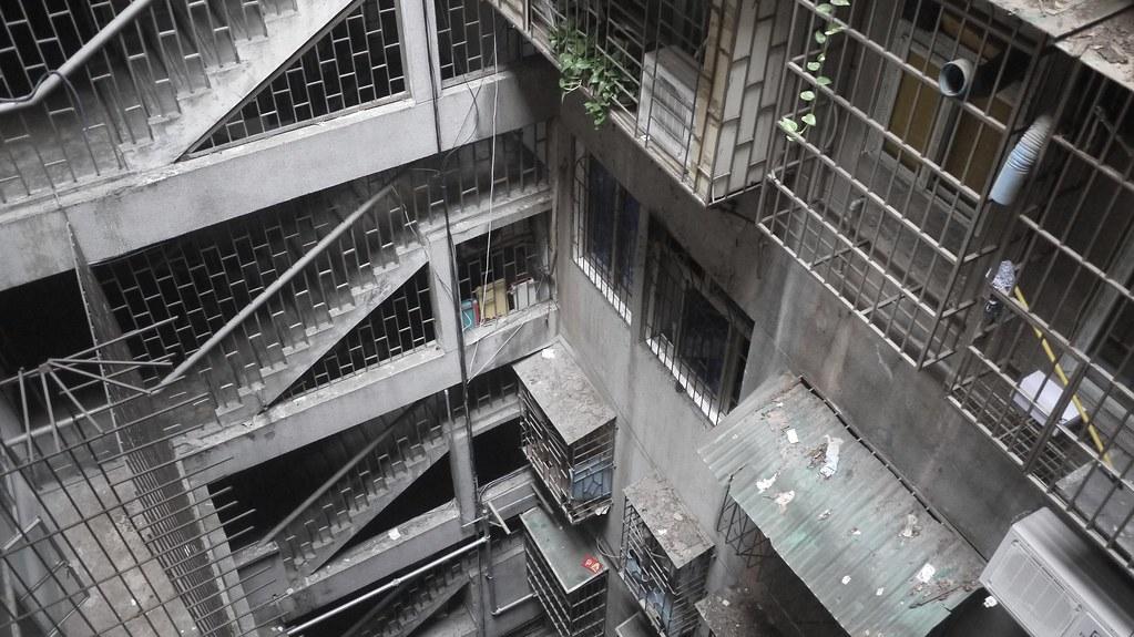 Concrete Stairwells