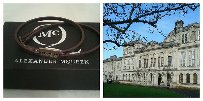 McQueen, Cardiff Uni