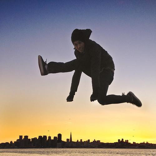 (precarious) LEAP OF FAITH