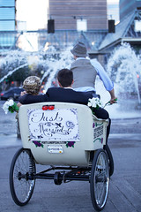 Portland Wedding Pedicabs