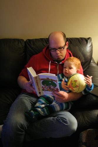14/365 :: bedtime reading