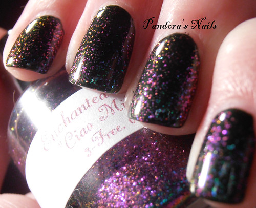 Kiko 392 and Enchanted Polish Ciao Milano 4