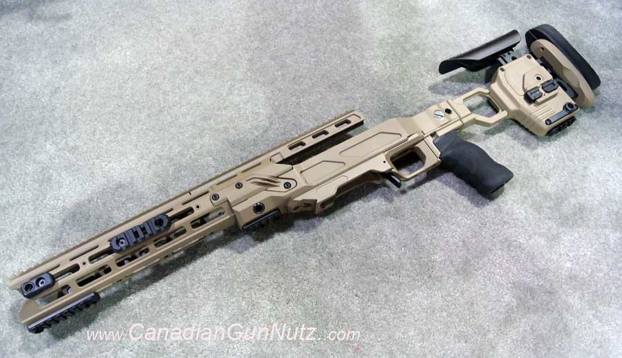SHOT SHOW 2013 Report: Cadex Strike Dual Chassis