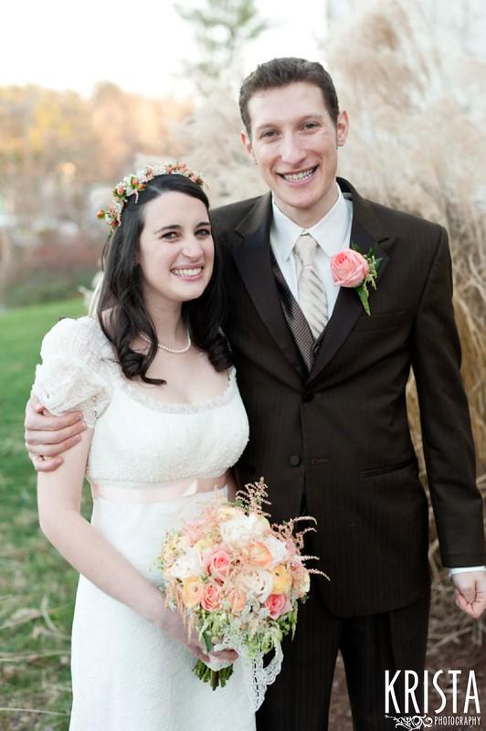 Beth Israel Temple wedding