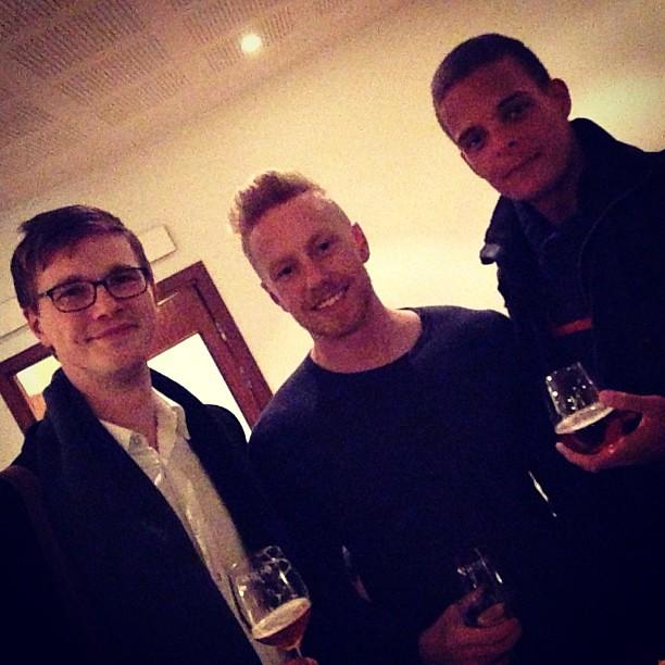 Vackra, långa män som pratar om matlagning. Jag är kär. @jesperbylund @frisyren @rutgon