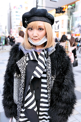 Black & White in Harajuku