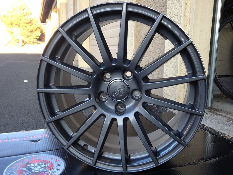 Vwvortex Com Ronal 15 Spoke Audi Titanium 18 Quot Wheel